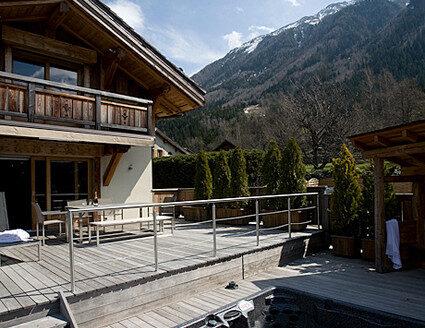Chamonix season rental chalet