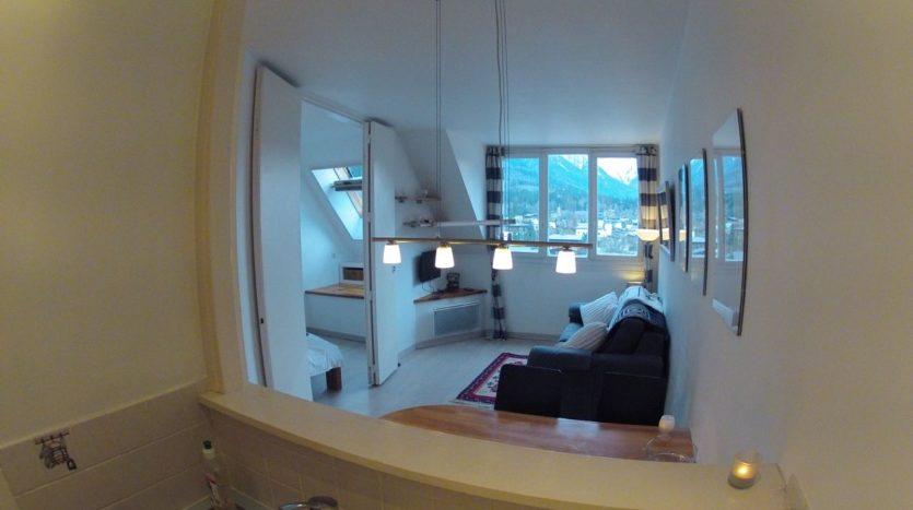 Le Chamois 707, chamonix accommodation, summer & winter season rental