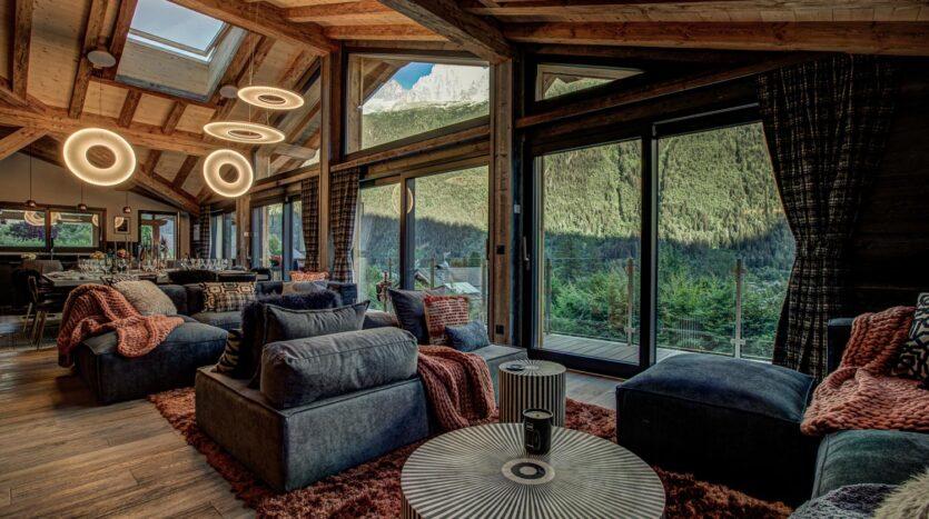 Chalet Rock and Roll, chamonix accommodation, summer & winter season rental