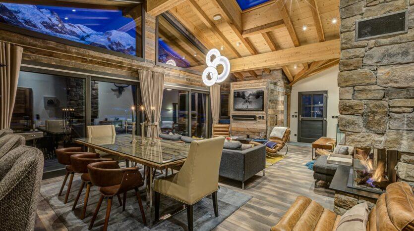 Chalet Peace & Love, chamonix accommodation, summer & winter season rental
