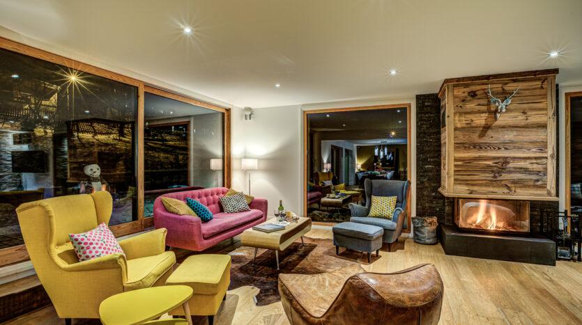 chalet rubicon, chamonix accommodation, summer & winter season
