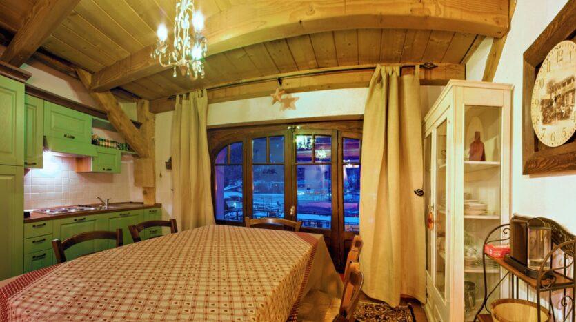 Chamonix winter season rental chalet